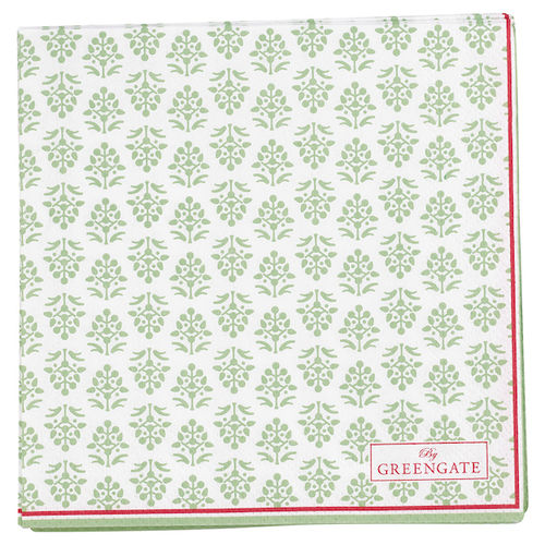 Ashley Papierservietten green von Greengate