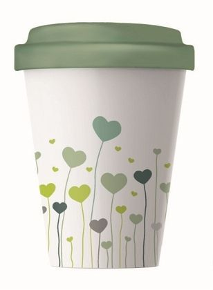Becher BambooCup Field of Love