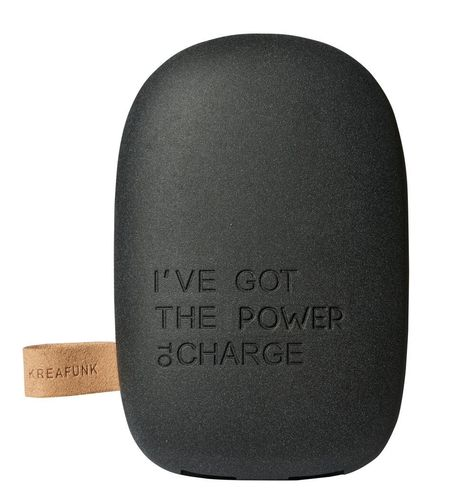 toCharge, Batteriebank, black edition von Kreafunk
