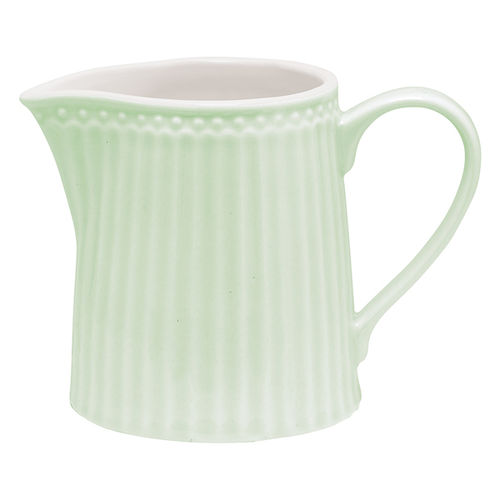 GreenGate Alice pale green Milchkännchen