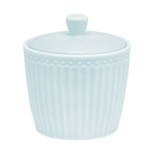 GreenGate Alice pale blue Suger Pot