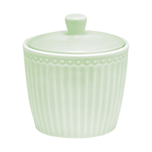 GreenGate Alice pale green Suger Pot