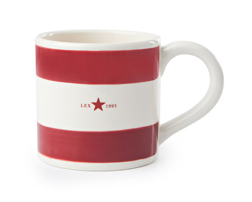 Mug red von Lexington