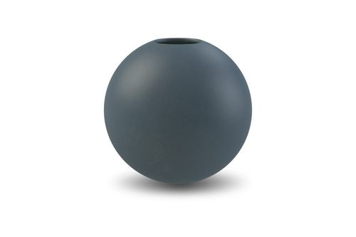 Vase Ball 20cm midnight blue von Cooee Design