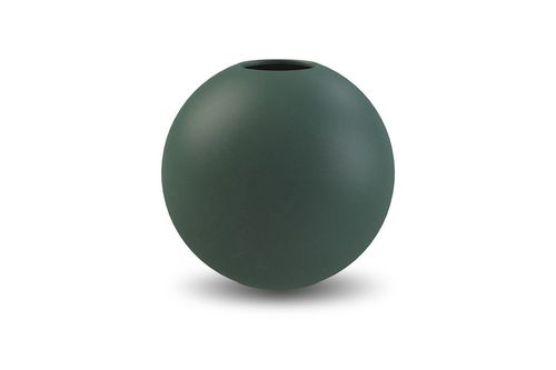 Vase Ball 20cm dark green von Cooee Design