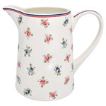 Greengate Hailey white Jug