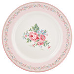 Greengate Marley pale pink dinner plate