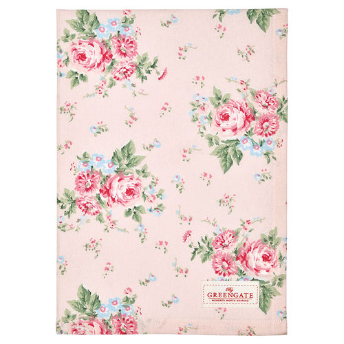 Greengate Marley pale pink Tea towel