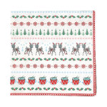 Greengate Napkin Bambi white small