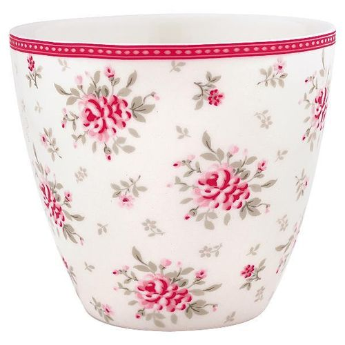 Greengate Flora Latte Cup white