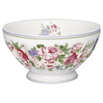 Rose French Bowl white XL von Greengate