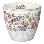 Rose Latte Cup white von Greengate