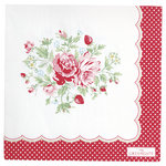 Mary Papierservietten white von Greengate