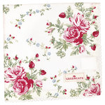 Mary Stoffserviette white von Greengate