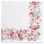 GreenGate Paper Napkin Rose White Large